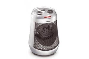 Princess Silver Oscillating Fan Heater